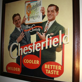 Glenn Miller and Fred Waring Chesterfield Poster - Signs
