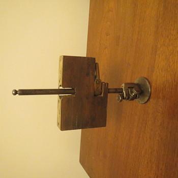 antique jig of some sort.   Door lock jig perhaps?