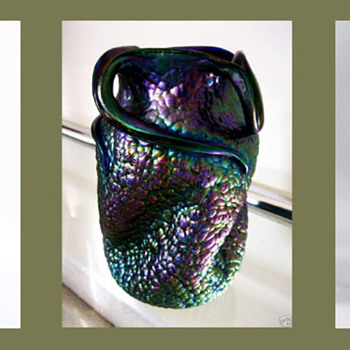 What made us think our Thomas Webb bronze vase could have been Lötz - Art Glass