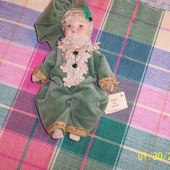 Made in Italy Hand made Doll - Dolls