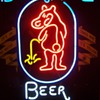 Bear Whiz Beer Neon Sign
