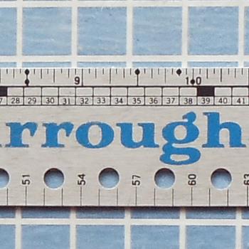 Vintage Burroughs Paper Caliper - Office