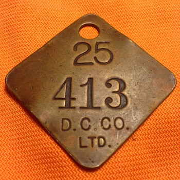 Coal Miners Dog Tags - Medals Pins and Badges