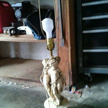 Cherub Lamps