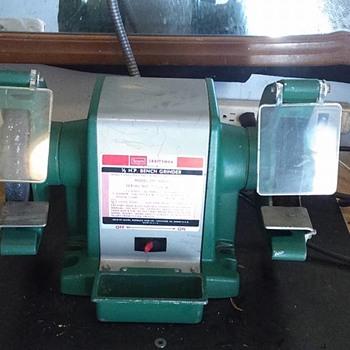 Old Craftsman Bench Grinder - Tools and Hardware