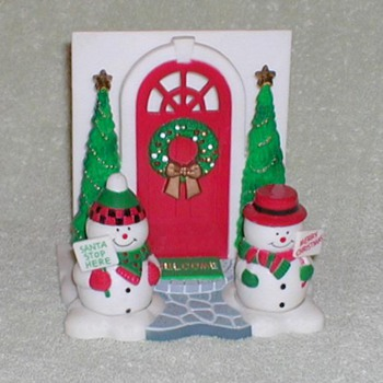 Christmas Salt & Pepper / Napkin Holder - Christmas