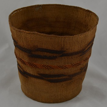 Antique Native Basket similar to Tlingit  - Native American