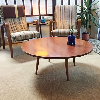 McCobb Round Coffee Table - FOUND - Mid-Century Modern
