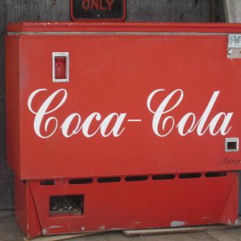 Genuine Coke cooler?