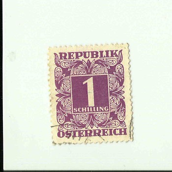 Ostereich Old Postage Stamps