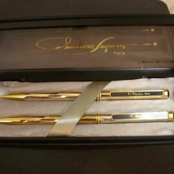 Christian Faymon - Paris -  Pen Set.   Anyone heard of it? - Pens