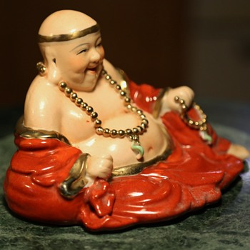Hotei with Buddha Beads and Jade Pigtails? - Asian
