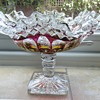 Westmoreland Glass Ruby Red Candy Dish