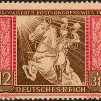 "1942 - Germany ""Postal Congress"" Stamp - Stamps"