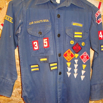 Early 1950's Cub Scout Shirt........... - Sporting Goods