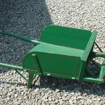Vintage Small Wheelbarrow - Tools and Hardware