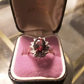 Ruby and Diamond  dress ring - Fine Jewelry