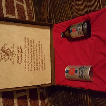 Anheuser-Busch Natural Light Beer Collectors Gift Box