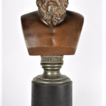 Socrates bust - Figurines