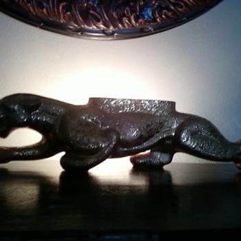 Gold Panther TV Lamp