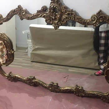 Antique Italian Mirror - Furniture