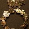 Vintage Mother of Pearl I Think Brooch and Bracelet Sterling 925