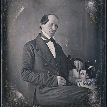 Daguerreotype with Chamfered Box Camera