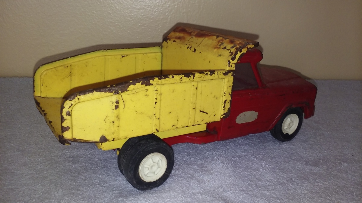 Old Tonka Toy Jeep Dump Truck Collectors Weekly