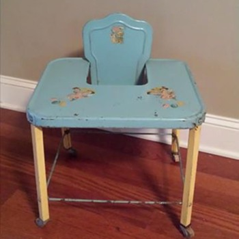 Baby high chair or 'activity' table or walker - Furniture