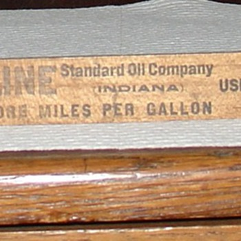 Standard Oil Company...Atwater Kent Gasoline Gauge...Patent May 18, 1909 - Petroliana