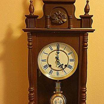 Junghans German 18th Century RA Pendulum Wall Clock Collectors