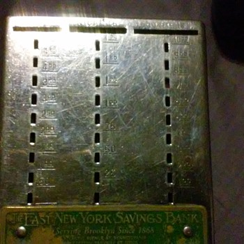 vintage bankers divider - Coin Operated
