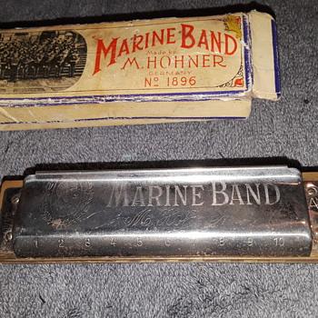 "my HOHNER ""MARINE BAND"" harmonica - Musical Instruments"