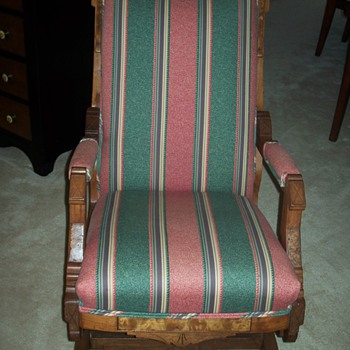 "My Antique ""Man"" and ""Woman"" Rocking Chairs  - Furniture"