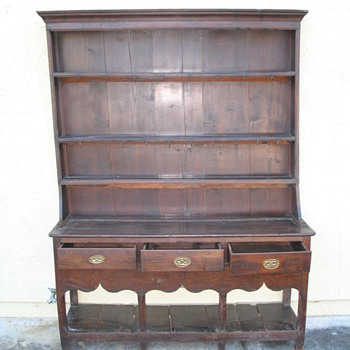 I wish I knew what type of old English furniture these are - Furniture