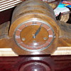 Unicorn Westminster German Mantle Clock