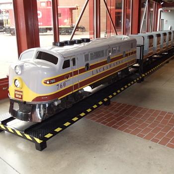 Lackawanna RR Nay Aug Park Train…..