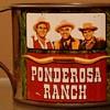 "Ponderosa Tin Cup Souvenirs Ponderosa Ranch Nevada ""Bonanza"""