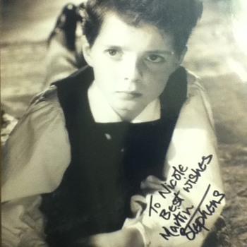 Martin Stephens autograph  - Movies