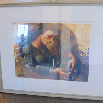 OLEG ZHIVETIN  -  Contemplation  -  Artist Proof