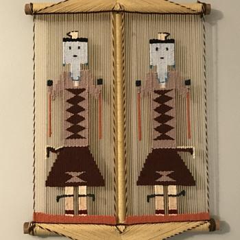 Native American weaving  - Native American