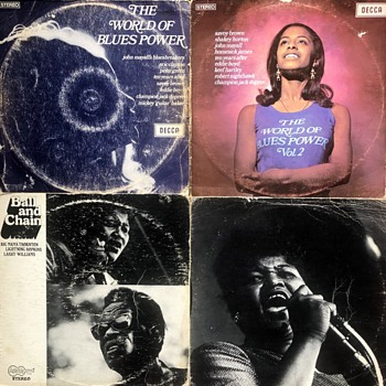 Blues Vinyl (1960's/70's)-5. - Records