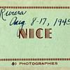 Nice, France Snapshots.....1940s
