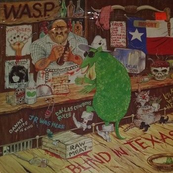 WASP..EXTENDED PLAY..IMPORT - Records