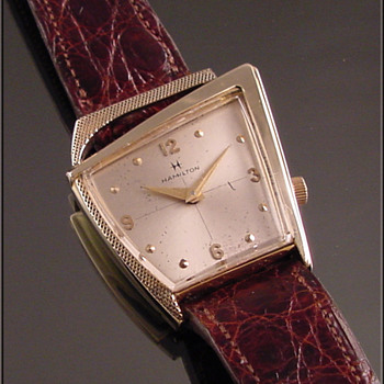 Hamilton 22-Jewel Flight 11 Wristwatch c.1961 - Wristwatches