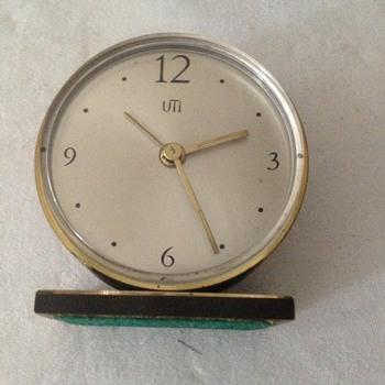 1960's Swiss Uti (Swiza) alarm clock. - Clocks