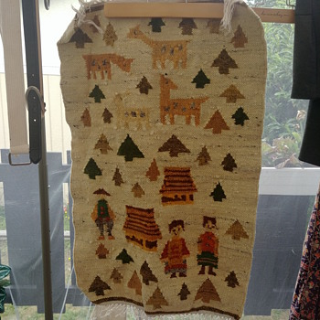 Vintage wall tapestry/ rug - Rugs and Textiles