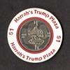 Harrah's Trump Plaza Casino - $1 Gaming Chip