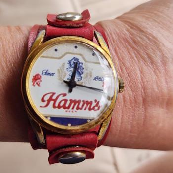 Hamm's wrist watch - Breweriana