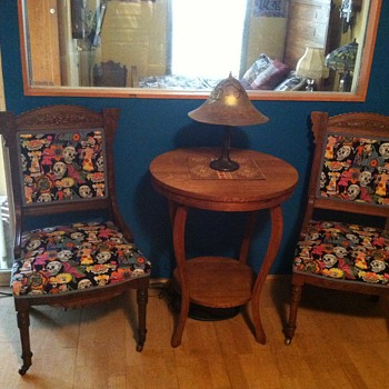 Eastlake parlor chair (day of the dead) - Furniture